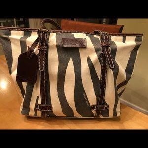 Dooney & Bourke Zebra Print Handbag